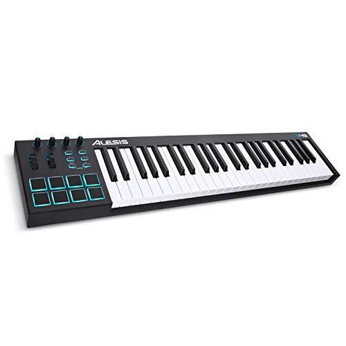 Alesis V49 - Clavier Maître USB-MIDI 49 Touches Portable...