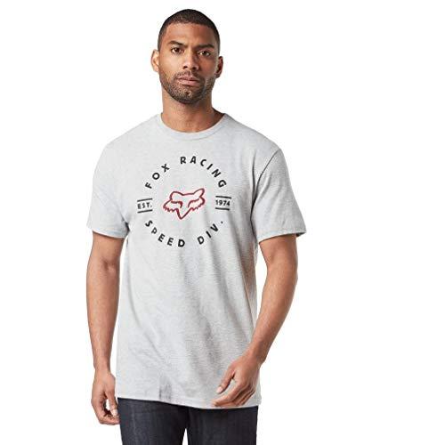 Fox T-Shirt Clocked Out Light Heather Grey Xl