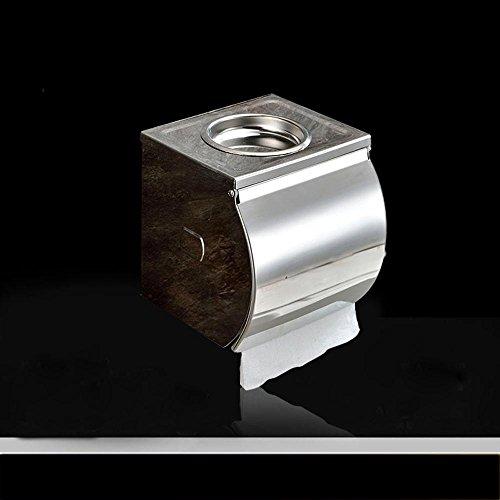 SSBY-In acciaio inox impermeabile carta titolare, vassoio carta igienica, rimosso Portacenere superiore