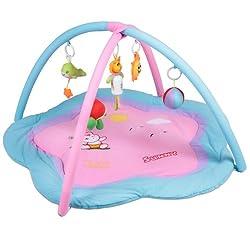 baby erlebnisdecke krabbeldecke mit spielbogen und spielzeug. Black Bedroom Furniture Sets. Home Design Ideas