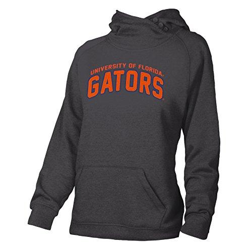 Ouray Sportswear NCAA University of Florida W Asym Redux Kapuze, Größe M, Anthrazit -