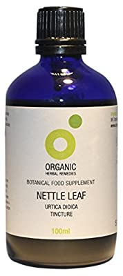 Organic Herbal Remedies 100 ml Nettle Leaf Tincture from Organic Herbal Remedies