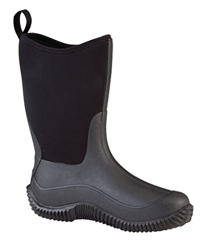Muck Boot Kid's Hale Snow Boots, Black Rubber, 9 Toddler M