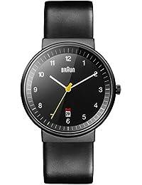 Braun Herren-Armbanduhr Analog Quarz BN0032BKBKG