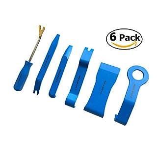 6 tlg. Zierleistenkeile-Set Türverkleidungs Lösewerkzeug Demontage Auto Türverkleidung Cliplöser