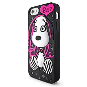 Iluv Belle 3D Case For Iphone 5S - Retail Packaging - Black