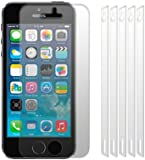 iPhone 5 / 5S Screen Protector Guard / Film / Cover / Case 6-in-1 Pack