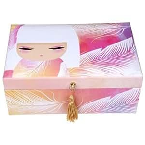 Boîte à bijoux Kimmidoll pompon Mizuyo - tendresse