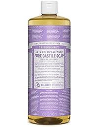Dr Bronner's 946 ml Organic Lavender Castile Liquid Soap