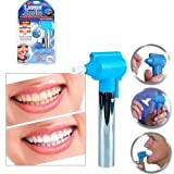 Bittu Exim Tooth ORAL Polisher Whitener Stain Remover With LED Toothbrush Light Rubber Cups Power Tooth Brushes Luma Smile