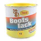 Kunstharzlack Tiger Bootslack citron 15 hochglänzend 0,5kg
