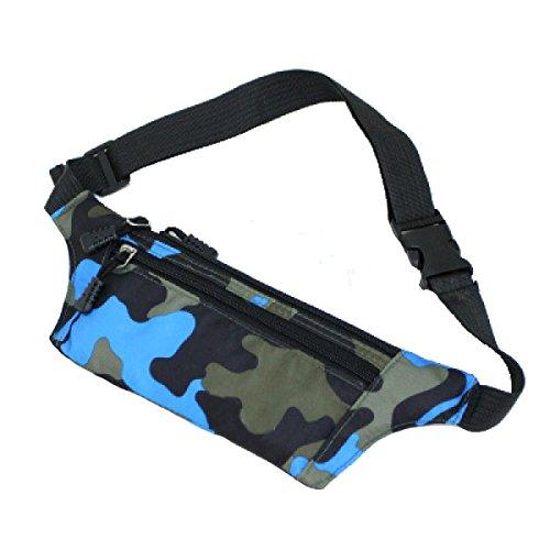 Multi-Sport Outdoor Fitness Sporttaschen Mehrfarbig Blue