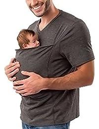HAHAEMMA Shirt Nouveau-Né Coton Infantile Baby Carrier Porte Bébé Sling Débardeurs Tops Kangourou Gilet Pour Hommes et Femmes
