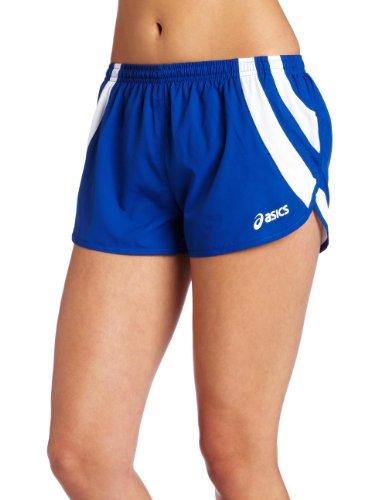 1/2 Split Shorts (ASICS Damen Intensity 1/2 Split Short, Damen, Royal/Weiß, Small)