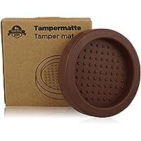 Base silicona para prensador de café y apoyo para el porta filtro. Perfecto para moler café expreso con el filtro. Accesorio ideal para baristas. Tamping mat.