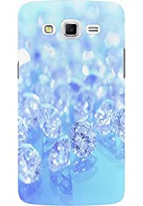 AMEZ designer printed 3d premium high quality back case cover for Samsung Galaxy Grand Max (diamonds)