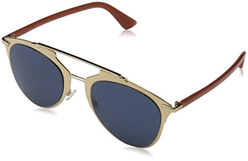 Dior Damen DIORREFLECTED KU TUZ Sonnenbrille, Pink (Rose Gold Brick/Bluee Avio), 52