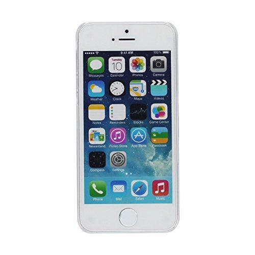"""iPhone 7 Plus Coque Case , Eau Liquide Style Sable Étoiles Coloré Écoulement Conception Housse de Protection Anti Choc pour Apple iPhone 7 Plus 5.5"""" Transparente Dur PC Violet"""