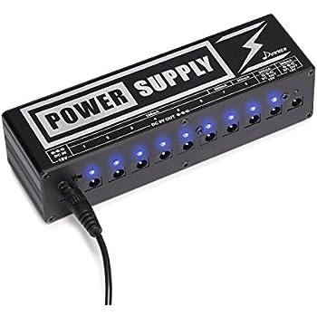 Guitar Pedal Power Supply Comparison : 9v guitar effect pedal power supply 5 way daisy chain for digitech musical ~ Vivirlamusica.com Haus und Dekorationen