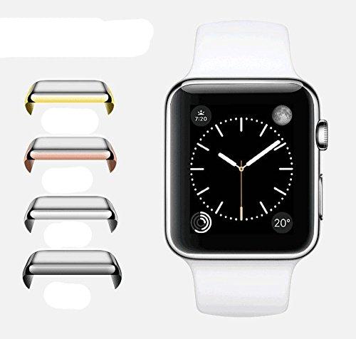 Apple Watch Serie 2Fall, efanr galvanisiert PC Smart Watch superdünn Full Deckung Schutzhülle Case Cover HD Displayschutzfolie für 38mm/42mm iWatch 2Apple Armbanduhr Serie 2 (Armorsuit Xperia)