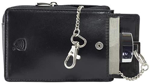 Keyless go Schutz Autoschlüssel - Schlüssel Signal Blocker Case Schwarz - Keyless Entry FOB Guard Signal Blocker Tasche - autoschlüssel hülle - Datenschutz Sicherheit - Koruma KFZ
