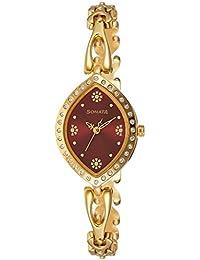 Sonata Analog Gold Dial Women's Watch NL8149YM01 / NL8149YM01