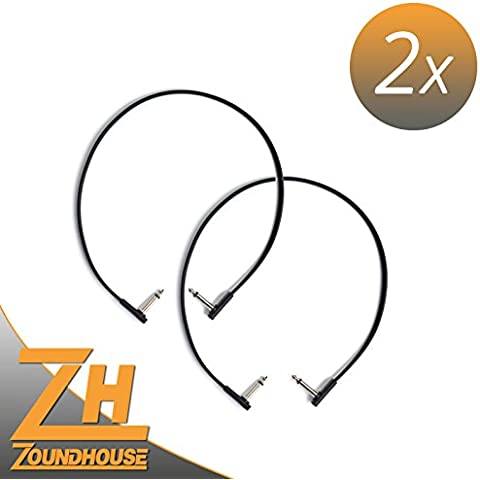 2x Rock madre Flat Patch Cable 60cm–Cavo patch