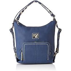 caminatta Malecon, Bolso mochila para Mujer, Azul (Marino) 10x31x29 cm (W x H x L)