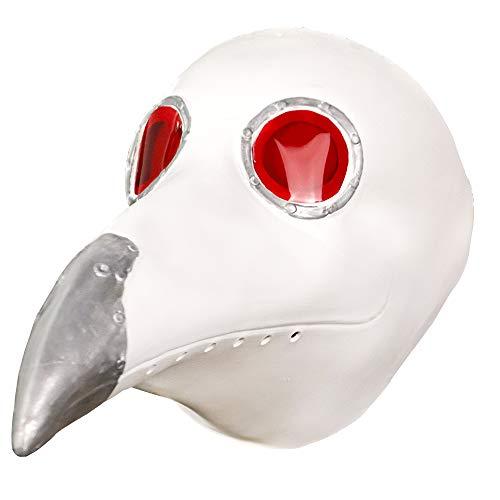 molezu Halloween Masken,Latex Tiermaske Cosplay Party Masken,Requisiten,Pest Maske Cosplay für Halloween Prop Punk Maske ()