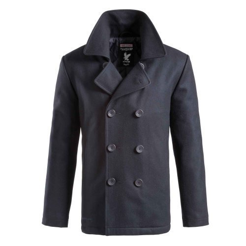 Surplus Herren PEA Coat, Navy, XXL Navy Pea Coat