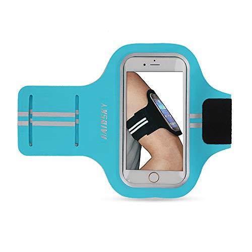 hSport Cassa del Bracciale Water Resistant Telefono Cellulare per iPhone Samsung con la Fascia Elastica Regolabile per Correre, Camminare, Escursionismo