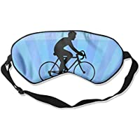 Black-and-white Cyclist 99% Eyeshade Blinders Sleeping Eye Patch Eye Mask Blindfold For Travel Insomnia Meditation preisvergleich bei billige-tabletten.eu