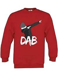 DAB - Sweat DAB enfant rouge Taille de 6 à 14 ans - 7 / 8 ans,11 / 12 ans ,8 / 10 ans,6 / 8 ans ,9 / 11 ans ,10 / 12 ans ,12 / 14 ans