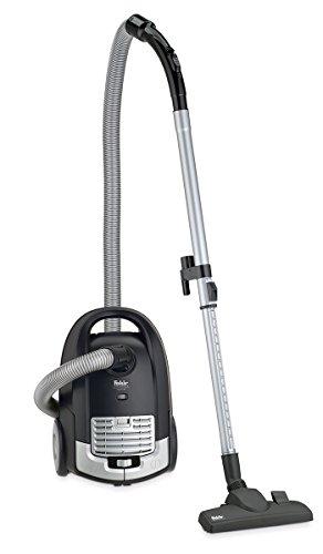 Fakir 3601003 - Aspiradora de trineo, color negro y plateado