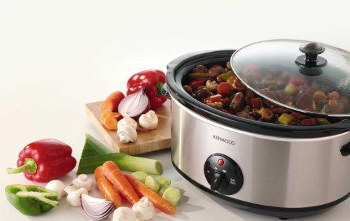 Kenwood CP658   Cocina lenta  material acero inoxidable  potencia 320 W  color plateado