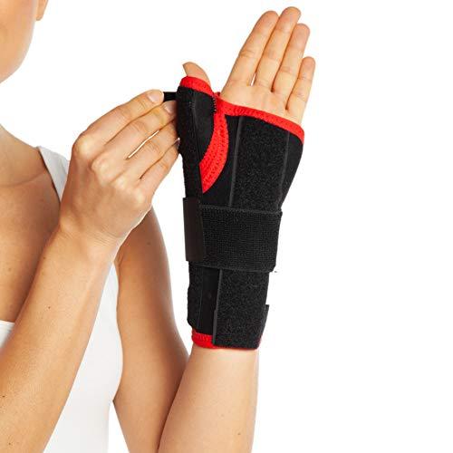 Neopren Daumen und Handgelenk Unterstützung-Karpaltunnel Bandage, Stütze Verstauchung Arthritis Schmerzen Daumen atmungsaktiv NHS Zugentlastung -