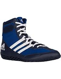 size 40 e84cb 9012b Adidas Mat Wizard.3 Wrestling Chaussures, Collegiate Bourgogne   noir   or,  4