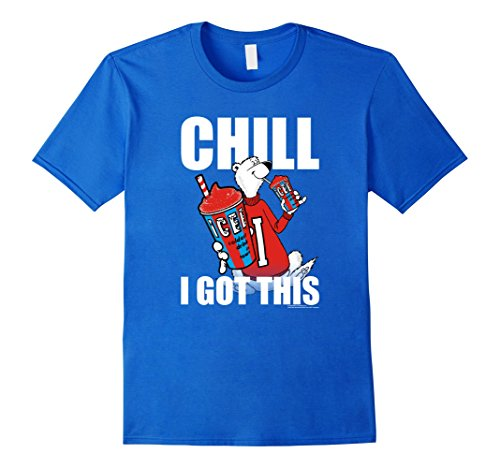 chill-i-got-this-icee-t-shirt-soft-touch-style-22537-herren-grosse-m-konigsblau