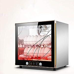 MXRqndqa Wärmegeräte Teetasse Desinfektion Kabinett nach Hause vertikale Mini-Geschirr Tischschrank Typ Desktop kleine Büro Küchenschrank