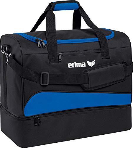 erima Sporttasche mit Bodenfach Sporttasche, 50 cm, 56 Liter, New royal/schwarz -