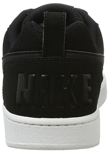 Nike Wmns Court Borough Low, Scarpe da Basket Donna Nero / Nero-Bianco)