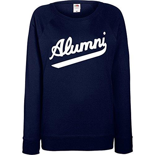 TRVPPY - Sweat Pull, modèle Kid Ink Tha Alumni Baseball - Femme, différentes tailles et couleurs Bleu Marine