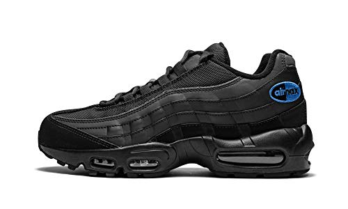 Nike Herren Air Max 95 Fitnessschuhe, Mehrfarbig Black/Anthracite/Game Royal 002, 46 EU -