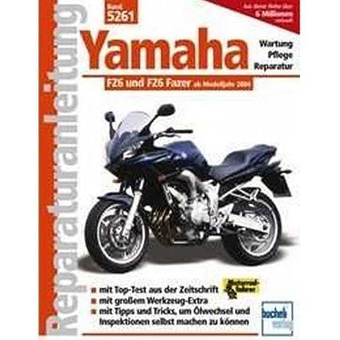 Reparación de instrucciones Yamaha FZ6FAZER, 04de