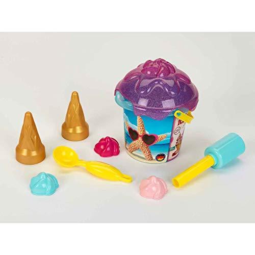 Theo Klein 2359 2359-Aqua Action Eiscreme Set, Sandeimer 1 Liter, Spielzeug, Made in Germany, Multicolor