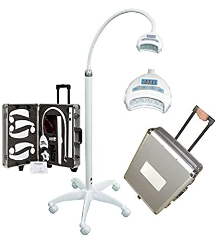 Grinigh Tragbare Dental Zahnaufhellung Zahnweiß LED Lampe 24W 10000 mW