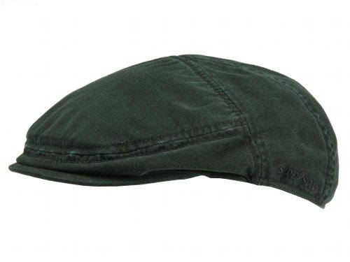 casquette-plate-paradise-cotton-stetson-casquettes-plates-xl-60-61-noir