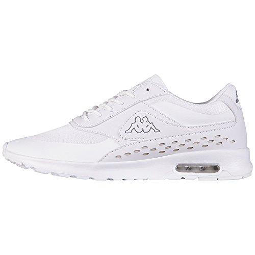 Kappa Milla, Zapatillas Mujer, Blanco 1010 White