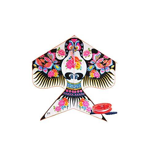 Yougou01 Cometa, Cometa con Estilo Chino Estilo Golondrina, Productos de Playa, Calidad Exquisita, Buen Sentido de Uso (Estilo Golondrina pequeña) (Color : Small Swallow Style)