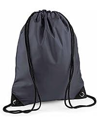 BAG BASE - sac à dos à bretelles - gym - linge sale - chaussures - BG10 - gris graphite